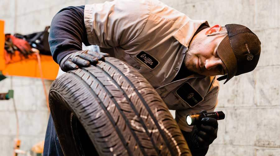 we inspect all tires